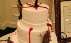 Na ez esküvői torta, szerintem mindenki ilyenre vágyik