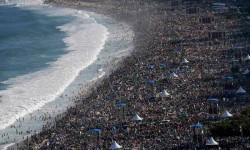 Nem igazán jó ötlet Rio -ban a strandolás