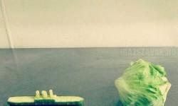A Titanic katasztrófája zöldségekkel szimulálva