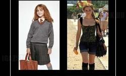Emma Watson – Régen és most