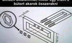 Minden alkalommal, mikor egy IKEA-s bútort akarok összerakni…