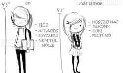 Én vs. más lányok
