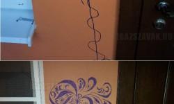 Így tüntesd el a gyerek rajzát a falról!