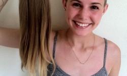 A barátnőmnek gyönyörű hosszú haja volt – ezt a fotót küldte ma nekem