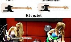 A gitár…