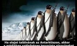 Ha olajat találnának az Antarktiszon…