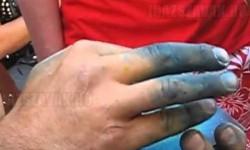 A művész, aki percek alatt fest tájképet