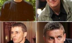 Így néztek ki a Barátok közt férfi szereplői fiatalon