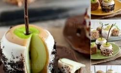 Különleges finomság, karamellás alma
