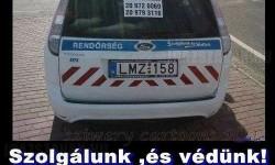 Nap képe – Rendőr reklám