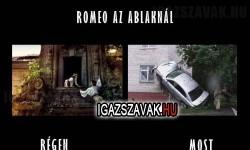 Romeo az ablaknál