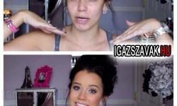 Egy átlagos lány randi előtt és után