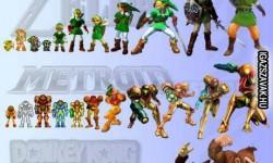 Fejlődése a Nintendo karaktereknél
